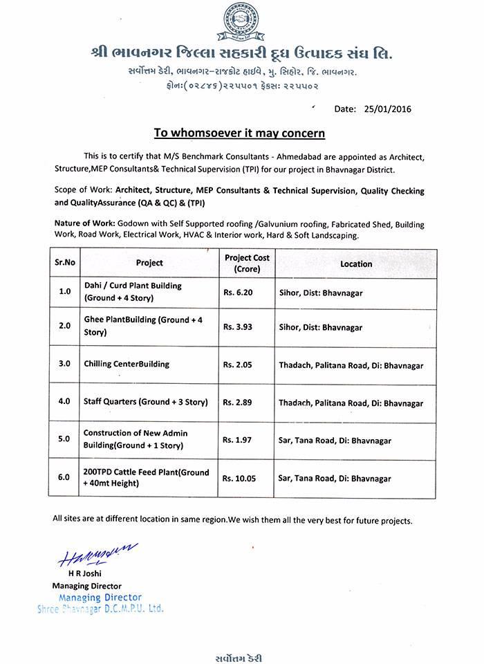 Completion Bhavnagar TPI